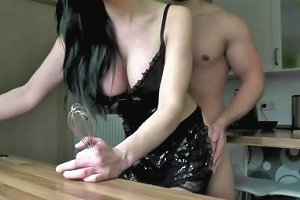 Naughty Hotties Net Blue Eyed Mean Girl Cream For Cake Quickie