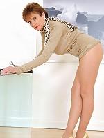 Pantyhose mature