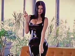 Lilly Roma In A Sexy Latex Catsuit Free Porn 87 Xhamster