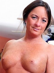 Mature women just get hotter and hornier with age! This nasty slut came to us with a need that can only be filled with long, hard, fuck session with o
