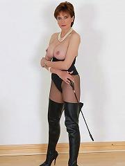 Busty mature mistress
