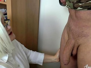 Agedlove Lacey Starr Fucking Hard With Soldier Nuvid