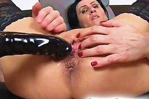 Pussy Gape And Squirting With Euro Wife Marta
