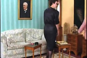Mature Milf In Stockings Tries Three Cocks Free Porn De