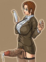 Anime heroines sprouting cocks