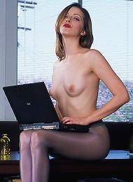 Girl In Stockings
