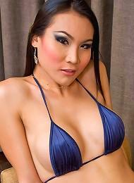Spicy Asian ladyboy Malisa s...