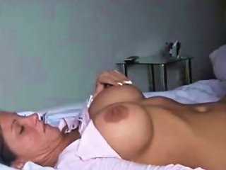 Beautiful Busty Brunette Fucked By Her Bf