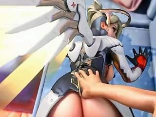 Try Not To Cum Challenge With Overwatch Mercy